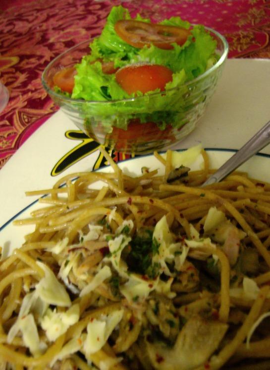 aglio-e-olio-e-tuna-e-funghi1