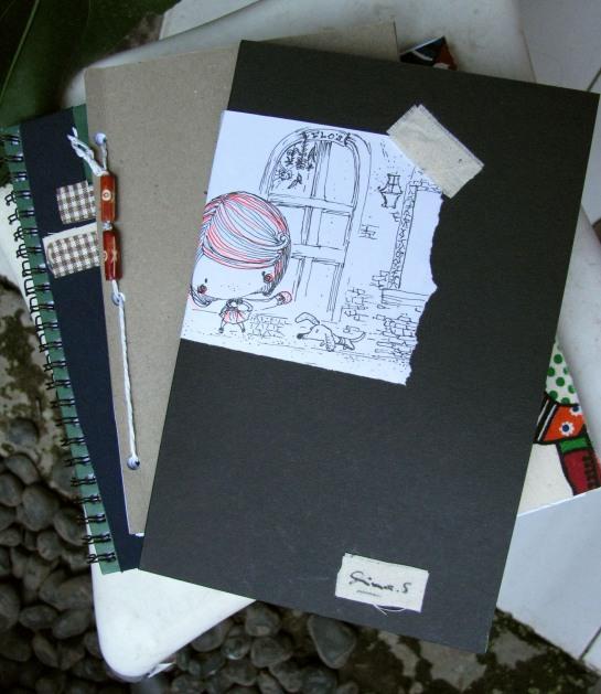 notebook berempat